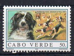 CAP VERT - CABO VERDE - CHIENS - DOGS - BRACO - 1995 - 50. - - Cap Vert