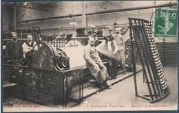 Calais , L'industrie Tullière , Atelier D' Ourdissage , Animée - Calais