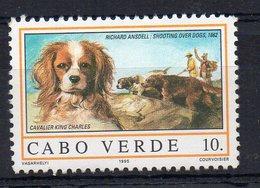 CAP VERT - CABO VERDE - CHIENS - DOGS - CAVALIER KING CHARLES - 1995 - 10. - - Cap Vert