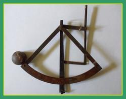 Mécanisme Ancien Pèse Lettres Balance 0-500Gr Cuivre (manque Socle - Plateau) - Pèse-lettres