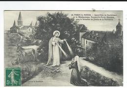 CPA 71 Paray Le Monial Apparition Sacrécoeur écrite TBE - Paray Le Monial