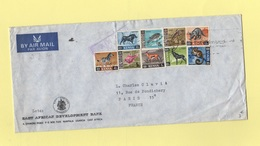 Ouganda - Kampala - Destination France - Timbres Tanzanie Et Kenya - Animaux - Ouganda (1962-...)