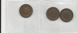 Portugal 3 Coins 5 Centavos 1924+1925+1927 - Munten & Bankbiljetten