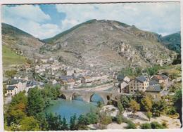 48 Les Gorges Du Tarn Vue Generale Du Village De  Sainte-enimie - Villefort