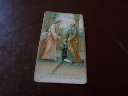 B723  Santino Gesu' - Images Religieuses
