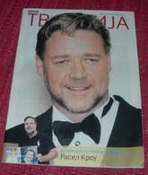 Russell Crowe TV REVIJA Serbian September 2016 VERY RARE - Livres, BD, Revues