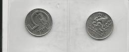 Czech Republic 2 Coins 5 Korun 1993+1994 - Munten & Bankbiljetten