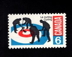 753863477 1969 SCOTT 490 POSTFRIS MINT NEVER HINGED EINWANDFREI XX  CURLING - 1952-.... Règne D'Elizabeth II