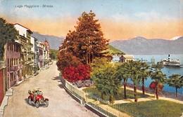 """1068 """"(VCO) STRESA - LAGO MAGGIORE"""" ANIMATA, AUTO. CART  SPED 1920 - Verbania"""