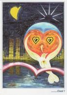 CP Illustrateur WTC Twin Towers World Trade Center Non écrite - World Trade Center