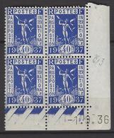 CD 324 FRANCE 1936 COIN DATE 324 : 1 / 9 / 36 PROPAGANDE POUR L EXPOSITION INTERNATIONNALE DE PARIS 1937 - Coins Datés