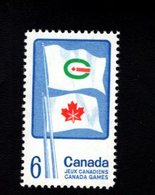 753865763 1969 SCOTT 500  POSTFRIS MINT NEVER HINGED EINWANDFREI XX  FLAGS OF SUMMER AND WINTER CANADA GAMES - 1952-.... Règne D'Elizabeth II