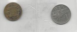 Romania 2 Coins 1 Leu 1966 + 10 Lei 1930 - Münzen & Banknoten