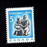 753871634 1968 SCOTT 488  POSTFRIS MINT NEVER HINGED EINWANDFREI XX  CHRISTMAS ESKIMO FAMILY CARVING - 1952-.... Règne D'Elizabeth II