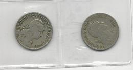 Portugal 2 Coins 1 Escudo 1929+1940 - Munten & Bankbiljetten