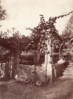 Italie Bordighera Jardin Puits Ancienne Photo Jean Gilletta 1880' - Old (before 1900)