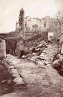 Italie Ceriana Vue Generale Tour Ancienne Photo Jean Gilletta 1880' - Photos