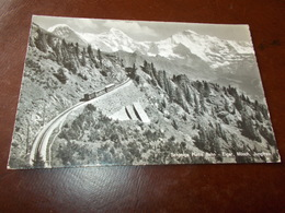 B723   Svizzera Schynige Platte Bahn Cm14x9 Viaggiata - Svizzera
