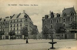 Nantes - Place Viarmes Et Rue Menou - Viarme - Belle Animation - Nantes