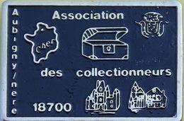 JJ  .422........ASSOCIATION  DES COLLECTIONNEURS   /AUBIGNY / NERE....CHER - Villes
