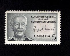 753878582 1967  SCOTT 474 POSTFRIS MINT NEVER HINGED EINWANDFREI XX GEORGES PHILIAS VANIER - 1952-.... Règne D'Elizabeth II