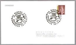 CACERES - PATRIMONIO DE LA HUMANIDAD - WORLD HERITAGE. CIGÜEÑA - STORK. Caceres, Extremadura, 1995 - Obliteraciones & Sellados Mecánicos (Publicitarios)