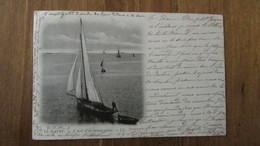 Cpa, N°57 . A Bord D'un Bateau Pilote (Bateau)  LL - 31 Octobre 1901 /n°39 - Le Havre