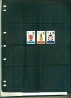 BAHAMAS SERIE COURANTE ELISABETH ET SUJETS DIVERS 3 VAL DA 1-2-3 $ AVEC FILIGRANE COUCHE NEUFS A PARTIR DE 2 EUROS - Bahamas (...-1973)