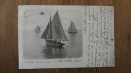 Cpa, N°58 . LE HAVRE . Pécheurs Au Large  (Bateau)  LL - 10 Novembre 1901 /n°40 - Le Havre