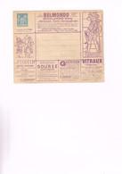 FRANCE : Enveloppe Publicitaire (vente En Gros) 15 Centimes. Belles Illustrations. - Advertising