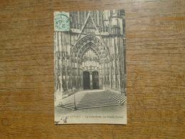 """Beauvais , La Cathédrale , Le Grand Portail """""""" Carte De 1904 """""""" - Beauvais"""