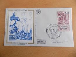 FDC  France : Relations Diplomatiques Avec La Thailande - Brest 25/01/1988 - 1980-1989