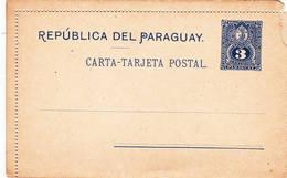 Entier Carte Tarjeta Lion Postal - Paraguay