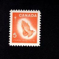 753881063 1966  SCOTT 452 POSTFRIS MINT NEVER HINGED EINWANDFREI XX CHRISTMAS PRAYING HANDS BY ALBRECHT DURER - 1952-.... Règne D'Elizabeth II