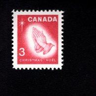753881309 1966  SCOTT 451 POSTFRIS MINT NEVER HINGED EINWANDFREI XX CHRISTMAS PRAYING HANDS BY ALBRECHT DURER - 1952-.... Règne D'Elizabeth II