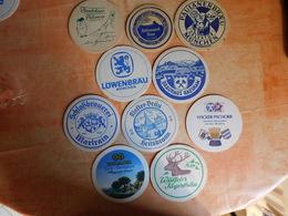 10 Sous-bocks Bières Allemandes  (box3-3) - Sous-bocks