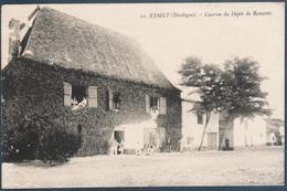 Eymet , Caserne Du Dépot De Remonte , Pli Coin Droit , Animée - France