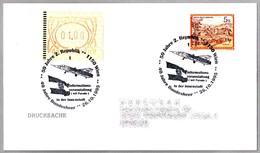 50 Jahre 2. Republik - 40 Jahre Bundesheer - AVION MIG 21. Wien 1995 - Aviones