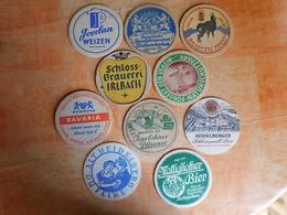 10 Sous-bocks Bières Allemandes  (box3-5) - Sous-bocks