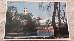 Angleterre Nottingham University & Lake - Nottingham