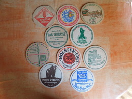 10 Sous-bocks Bières Allemandes  (box3-7) - Sous-bocks