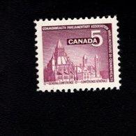 753882932 1966  SCOTT 450 POSTFRIS MINT NEVER HINGED EINWANDFREI XX PARLIAMENTARY LIBRARY OTTAWA - 1952-.... Règne D'Elizabeth II