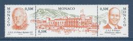 Monaco - YT N° 2467 à 2469 - Neuf Sans Charnière - 2004 - Monaco
