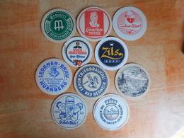 10 Sous-bocks Bières Allemandes  (box3-10) - Sous-bocks