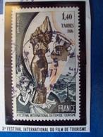 """1970-79-timbre Oblitéré N°  1906  """"  X ème Festival Du Film De Tourisme     """"     0.50 - France"""