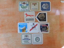 10 Sous-bocks Bières Allemandes  (box3-13) - Sous-bocks