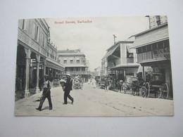 BARBADOS , Postcard With Stamp Send To Germany 1909 - Barbados