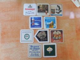 10 Sous-bocks Bières Allemandes  (box3-15) - Sous-bocks