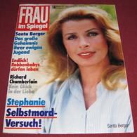 Senta Berger FRAU IM SPIEGEL - German March 1987 ULTRA RARE - Magazines & Newspapers