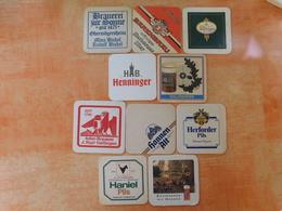10 Sous-bocks Bières Allemandes  (box3-16) - Sous-bocks